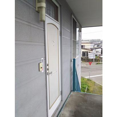 玄関ドアです。