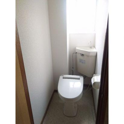 トイレ、温便座です。