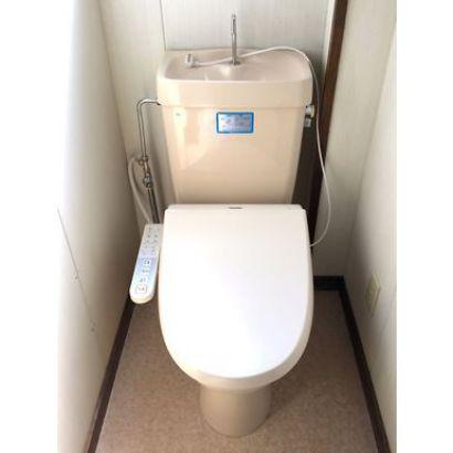 トイレ、洗浄機付