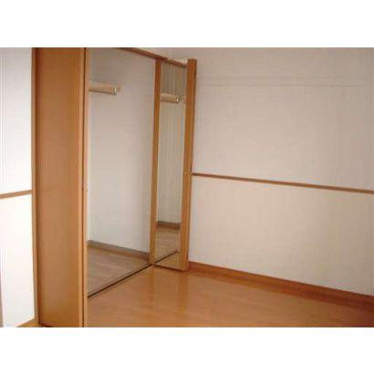 洋室 収納(鏡付です)