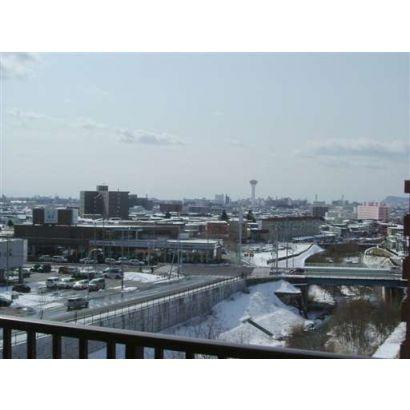 6階からの眺めです