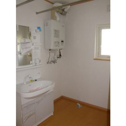 洗面・脱衣所です。