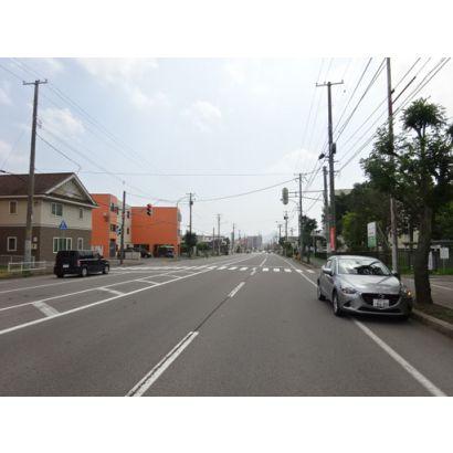 近くの道道赤川函館線