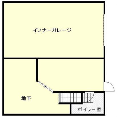 1階(地下部分)