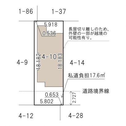 敷地説明図