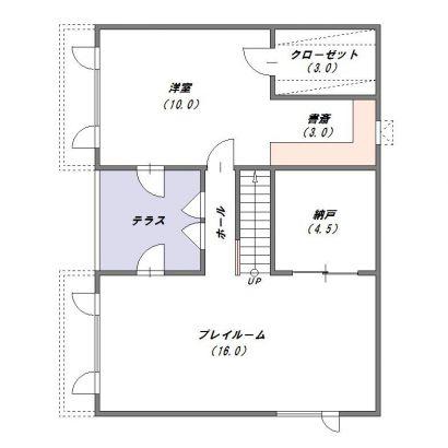 地階平面図