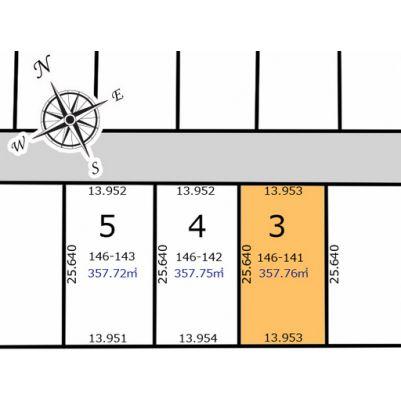 区画図No3です。