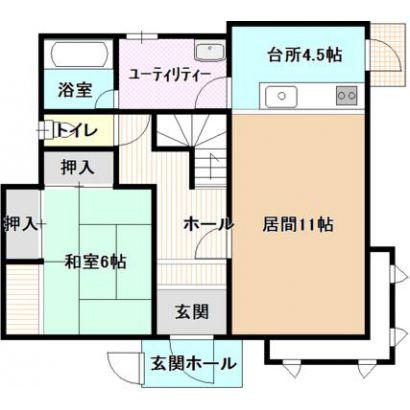 間取り 1階